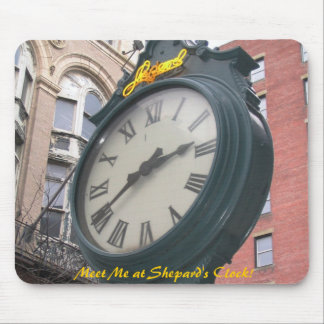 Shepards Clock, Providence, Rhode Island Mouse Pad