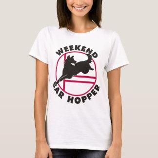 Shepherd Agility Weekend Bar Hopper T-Shirt