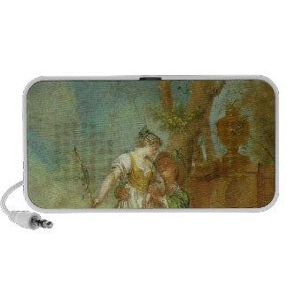 Shepherd and Shepherdess Portable Speaker