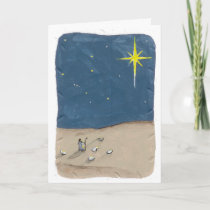Shepherd and the Star Holiday Card