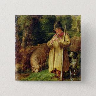 Shepherd Boy, 1831 (oil on panel) Button