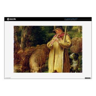 "Shepherd Boy, 1831 (oil on panel) Decal For 15"" Laptop"
