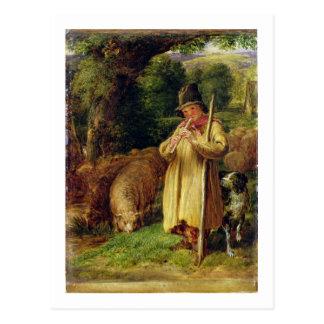 Shepherd Boy, 1831 (oil on panel) Postcard