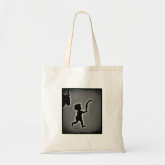 Shepherd Boy Carrying a Palm Frond Tote Bag