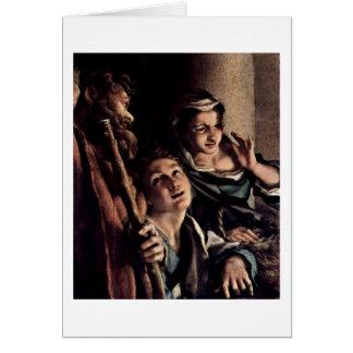 Shepherd By Antonio Allegri Da Correggio Cards