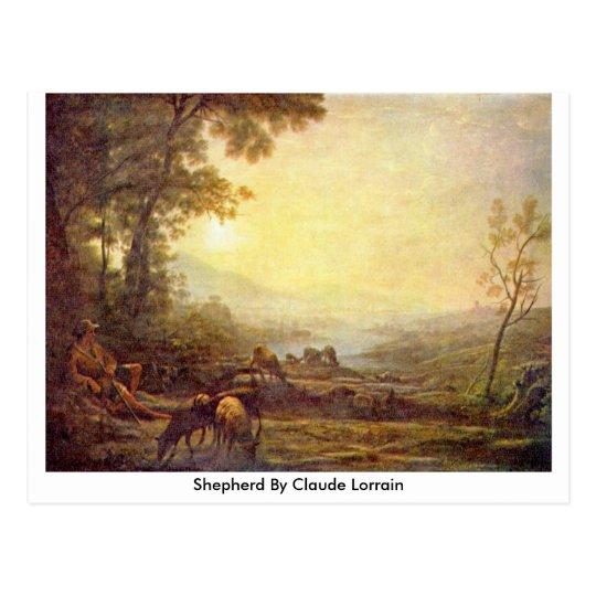 Shepherd By Claude Lorrain Postcard