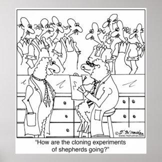 Shepherd Cloning Poster