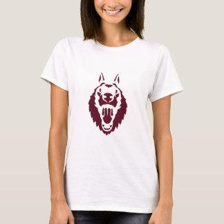 shepherd dog head ferocious animals 1209 T-Shirt