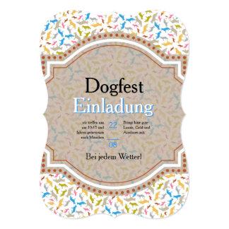 Shepherd Dog Invitation