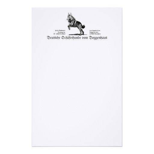 Dog Writing Paper