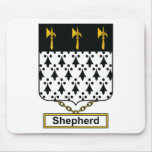 Shepherd Family Crest Mouse Pad