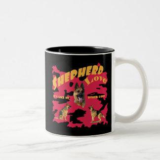 Shepherd Love Two-Tone Coffee Mug