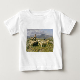 Shepherd of the Pyrenees by Rosa Bonheur Baby T-Shirt