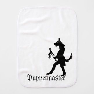 Shepherd Puppet Master Burp Cloth
