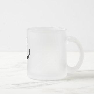 Shepherd Puppet Master Frosted Glass Coffee Mug