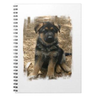 Shepherd Puppy  Notebook