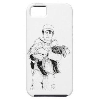 Shepherd Regarding His Sheep iPhone SE/5/5s Case