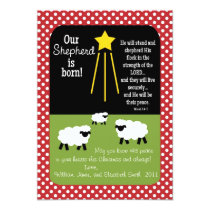SHEPHERD Scripture Verse 2-Sided Christmas Card