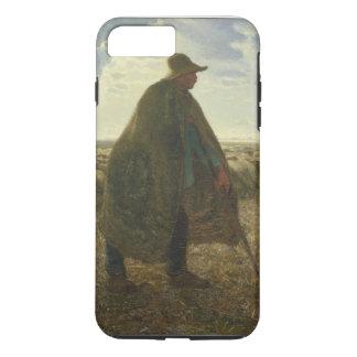 Shepherd Tending His Flock by Jean-François Millet iPhone 7 Plus Case