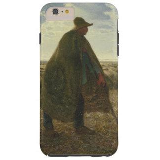 Shepherd Tending His Flock by Jean-François Millet Tough iPhone 6 Plus Case