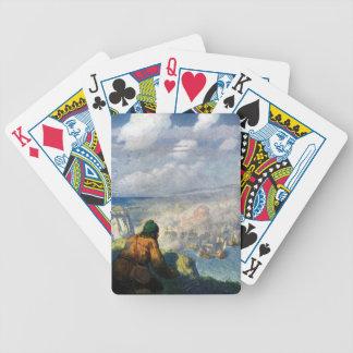 Shepherd Watching Armadas Battle Bicycle Playing Cards