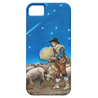 Shepherd with his sheep iPhone SE/5/5s case