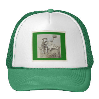 Shepherdess & Chimney Sweep Cap Trucker Hat