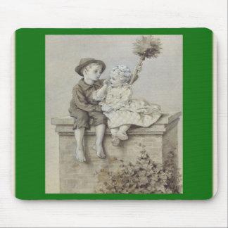Shepherdess & Chimney Sweep Mousepad