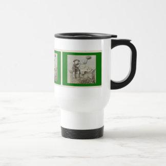 Shepherdess & Chimney Sweep Travel Mug