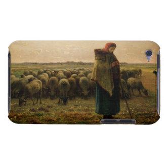 Shepherdess con su multitud, 1863 carcasa para iPod