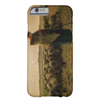 Shepherdess con su multitud, 1863 funda barely there iPhone 6