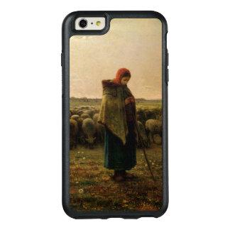 Shepherdess con su multitud, 1863 funda otterbox para iPhone 6/6s plus