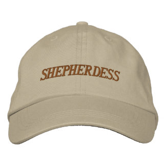SHEPHERDESS HAT EMBROIDERED HATS