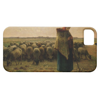 Shepherdess with her Flock 1863 iPhone 5 Case