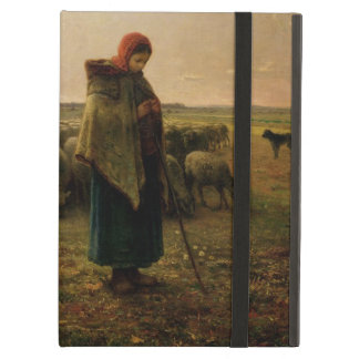 Shepherdess with her Flock, 1863 Case For iPad Air