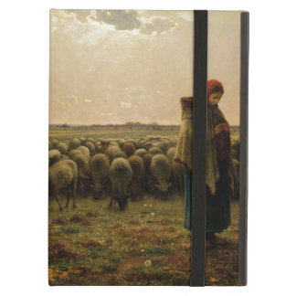 Shepherdess with her Flock, 1863 iPad Air Cover