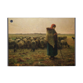Shepherdess with her Flock, 1863 iPad Mini Cover