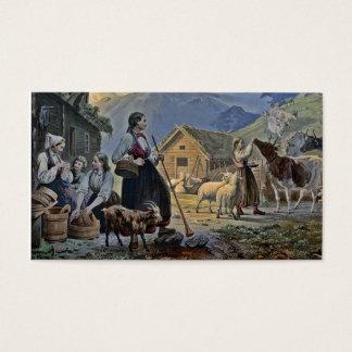 Shepherdess's Hut on the Mountain Business Card