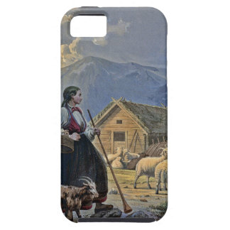 Shepherdess's Hut on the Mountain iPhone 5 Cases