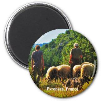 Shepherding in France Magnet