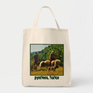 Shepherding in France Tote Bag