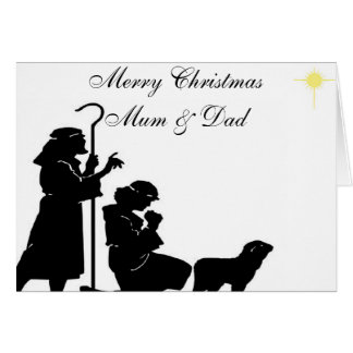 SHEPHERDS CHRISTMAS CARD