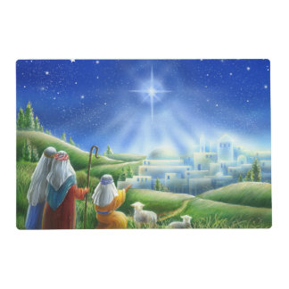 Shepherds Come to Bethlehem Placemat