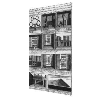 Shepherd's escape form Newgate Prison Canvas Print