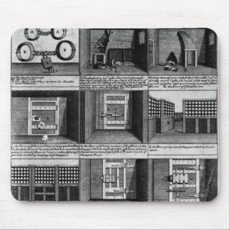 Shepherd's escape form Newgate Prison Mouse Pad