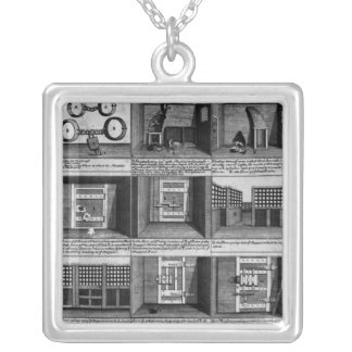 Shepherd's escape form Newgate Prison Silver Plated Necklace