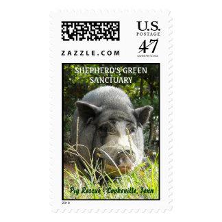 SHEPHERD'S GREEN SANCTUARY POSTAGE STAMP