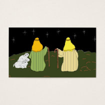 Shepherds Guarding Their Sheep Business Card