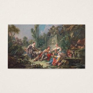 Shepherd's Idyll - François Boucher Business Card