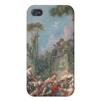 Shepherd's Idyll - François Boucher iPhone 4 Case